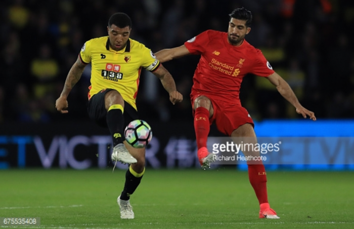 Watford hold shaky Liverpool to thrilling 3-3 draw