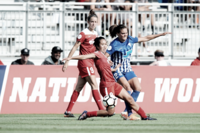 Boston Breakers and Washington Spirit tie 2-2 in an even, if low stakes, match