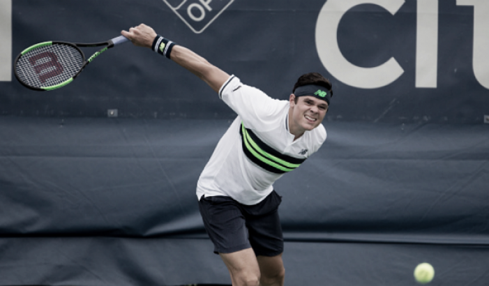 Milos Raonic withdraws from the Western and Southern Open