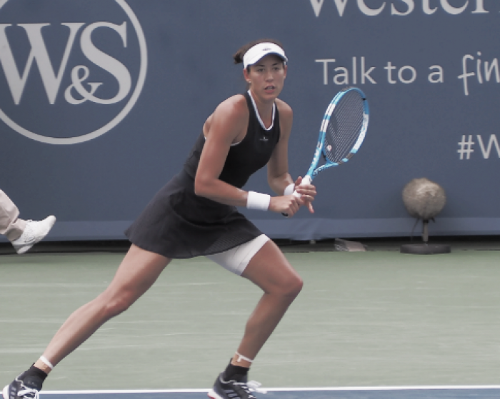 WTA Cincinnati: Garbiñe Muguruza notches first win over Madison Keys