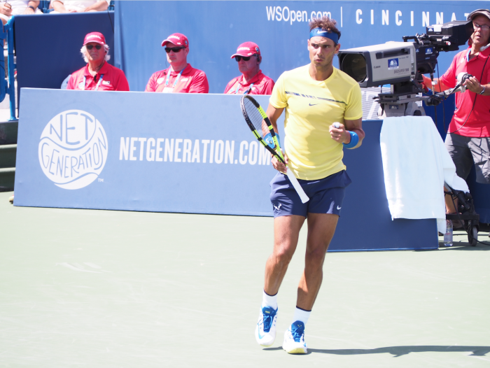 ATP Cincinnati: Rafael Nadal wins battle of Spanish lefties