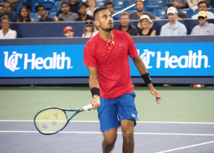 ATP Cincinnati: Nick Kyrgios produces serving masterclass to knockout top-seeded Rafael Nadal