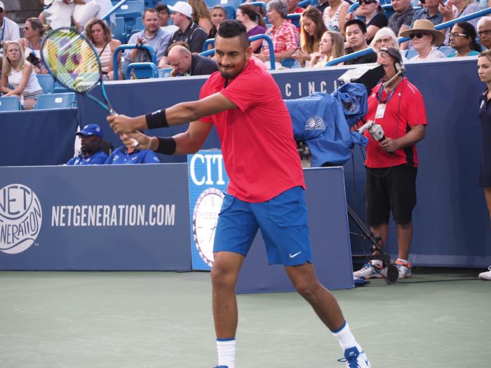ATP Cincinnati: Nick Kyrgios edges David Ferrer to book spot in first Masters 1000 final