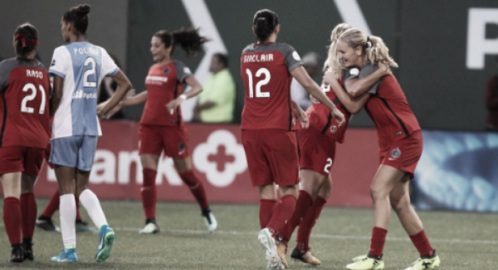 Portland Thorns stay mighty at home, take down the Houston Dash 2-0