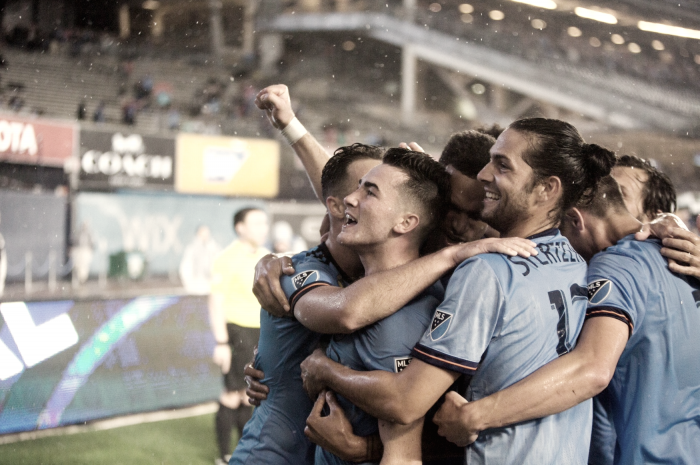 New York City FC improve to ten straight unbeaten at home
