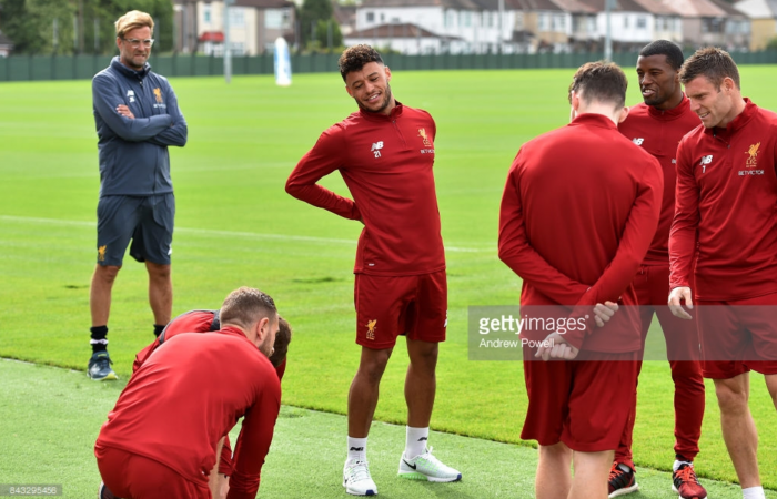 """Summer signing Alex Oxlade-Chamberlain can play in """"a few positions"""" for Liverpool says Jürgen Klopp"""