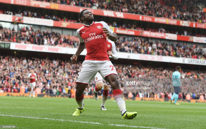 Arsenal Cruise Past Bournemouth Courtesy of Danny Welbeck Brace