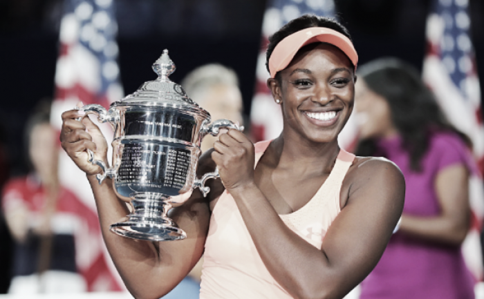 US Open: Scintillating Sloane Stephens roars her way to first Grand Slam title in rout over Madison Keys