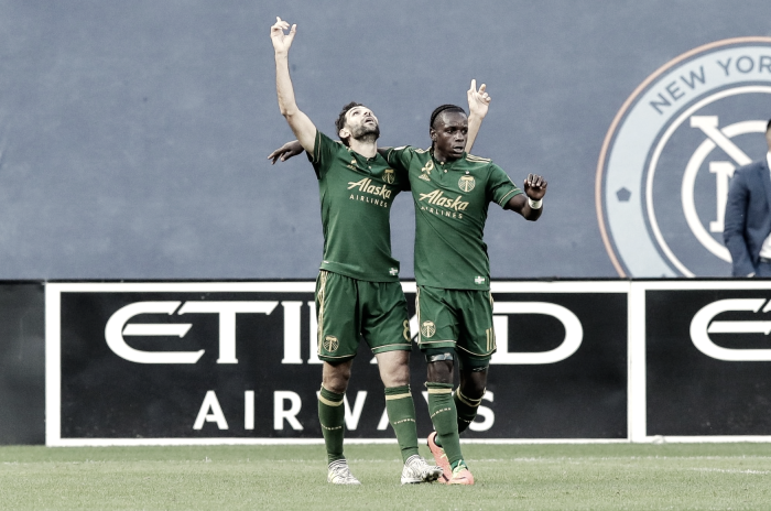 Portland Timbers end New York City FC's home unbeaten streak with 1-0 win in the Bronx
