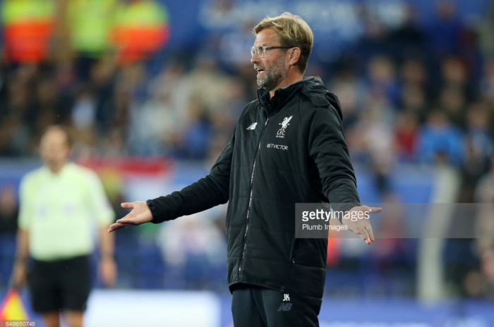 "Jürgen Klopp ""really, really sick"" of Liverpool's defending after Carabao Cup exit to Leicester City"