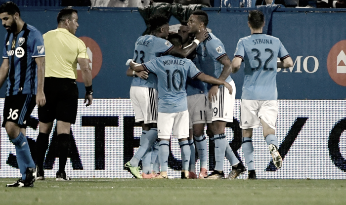 New York City FC leave Montreal with all three points