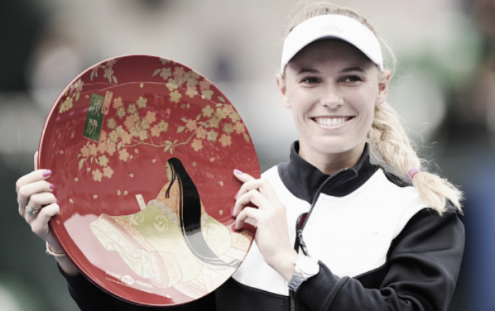Caroline Wozniacki sixth to qualify for the WTA Finals