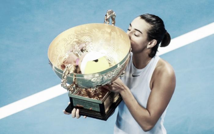 Johanna Konta withdraws from Kremlin Cup as Caroline Garcia books ticket to WTA Finals