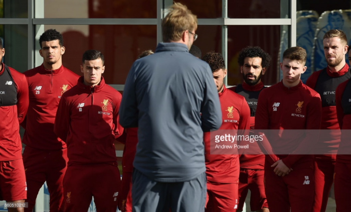 Jürgen Klopp confident Liverpool can go head-to-head with Manchester United even without Sadio Mané