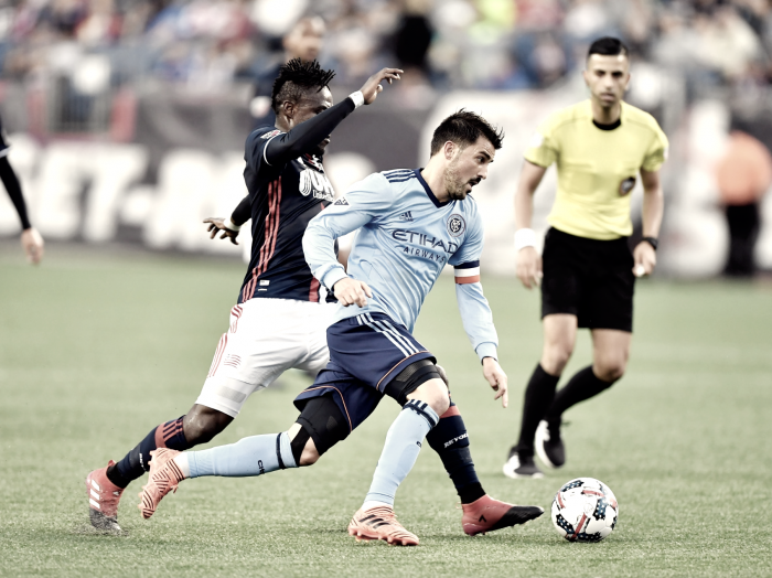 10-man New York City FC drop three precious points with loss to New England