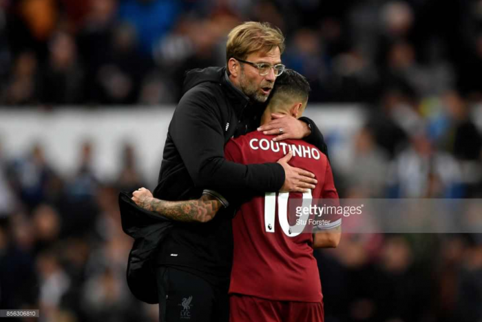 Klopp refuses to rule out January exit for Coutinho