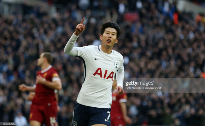Heung-min Son: I should have scored more than once in Spurs' demolition of Liverpool