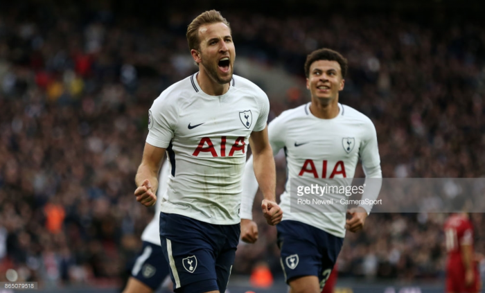 Tottenham Hotspur front-man Harry Kane targeting 50 goals for 2017 after Liverpool brace