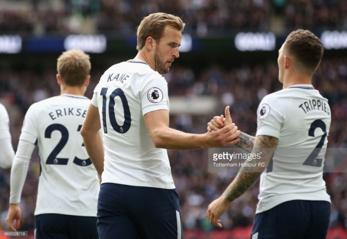 No surprise that world-class Harry Kane is so prolific, insists Spurs team-mate Kieran Trippier