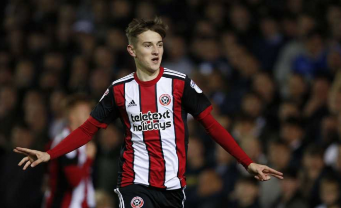 Leeds United 1-2 Sheffield United: Brooks' first senior goal sends Blades top of the league