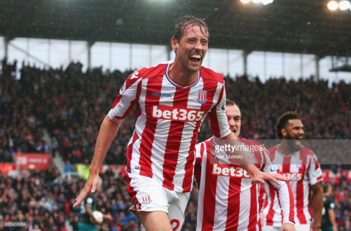 Peter Crouch could soon be Stoke's Plan A says Mark Hughes after striker's equaliser against Leicester