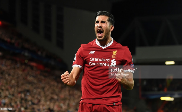 Liverpool's Emre Can spurred on by Germany's squad competition