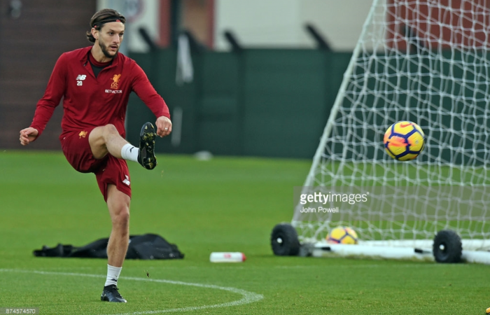 "Jürgen Klopp: Liverpool's Adam Lallana ""knocking on the door"" for first appearance"