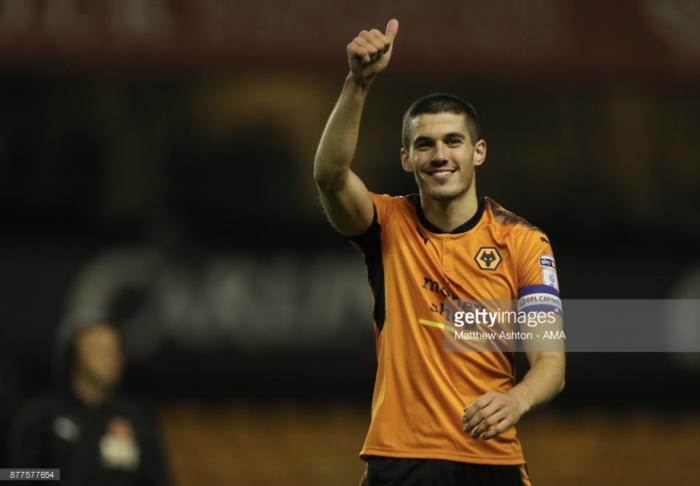"""Wolves captain Conor Coady """"really enjoying"""" centre-back role under Nuno Espírito Santo"""