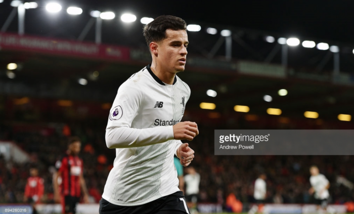 "Alex Oxlade-Chamberlain: ""Top quality"" Coutinho remains fully focused on Liverpool"