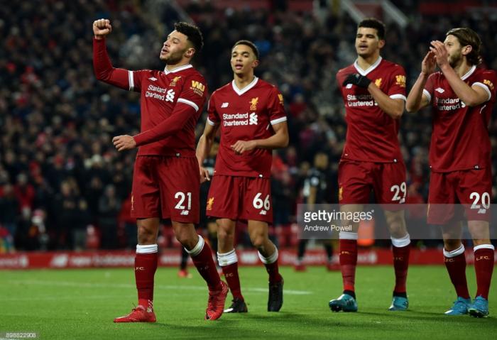 Liverpool midfielder Alex Oxlade-Chamberlain aiming to improve end product despite Swansea strike