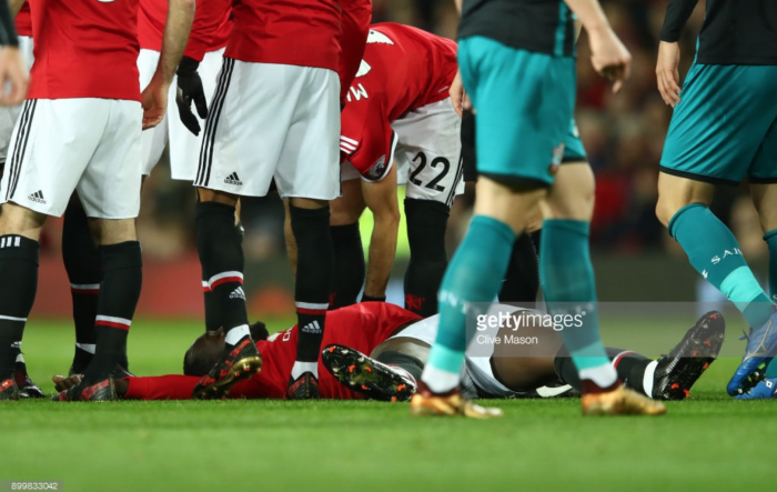 Manchester United striker Romelu Lukaku could return from head injury to face Derby in FA Cup
