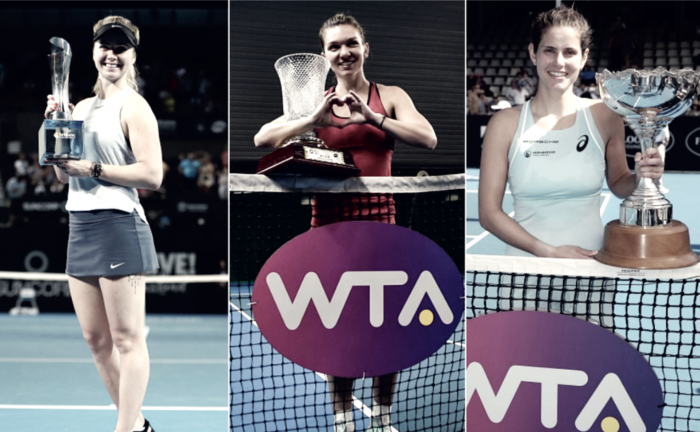 WTA Weekly Update week one: Top players dominate with titles to kickoff 2018