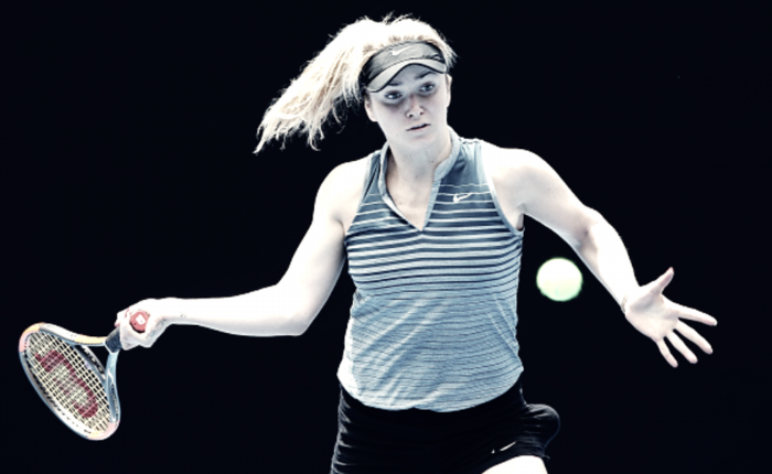 Australian Open player profile: Elina Svitolina