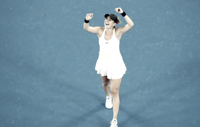 Bencic stuns last year's finalist Venus at Australian Open