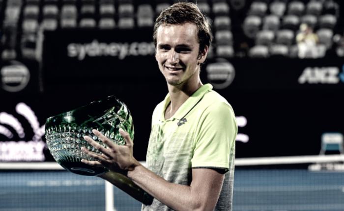 ATP Sydney: Qualifier Daniil Medvedev takes out home favorite Alex de Minaur