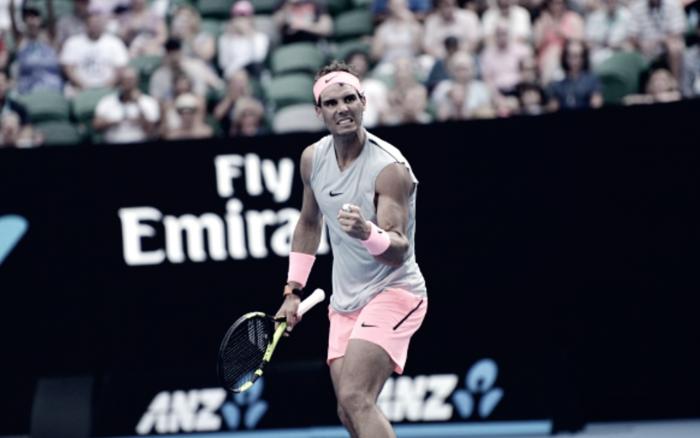 Australian Open: Rafael Nadal battles through gritty Diego Schwartzman to reach quarterfinal