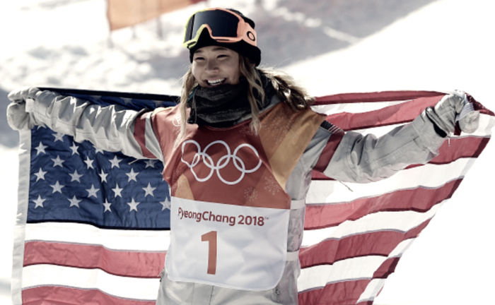 Pyeongchang 2018: Chloe Kim captures Olympic gold with historical back-to-back 1080s