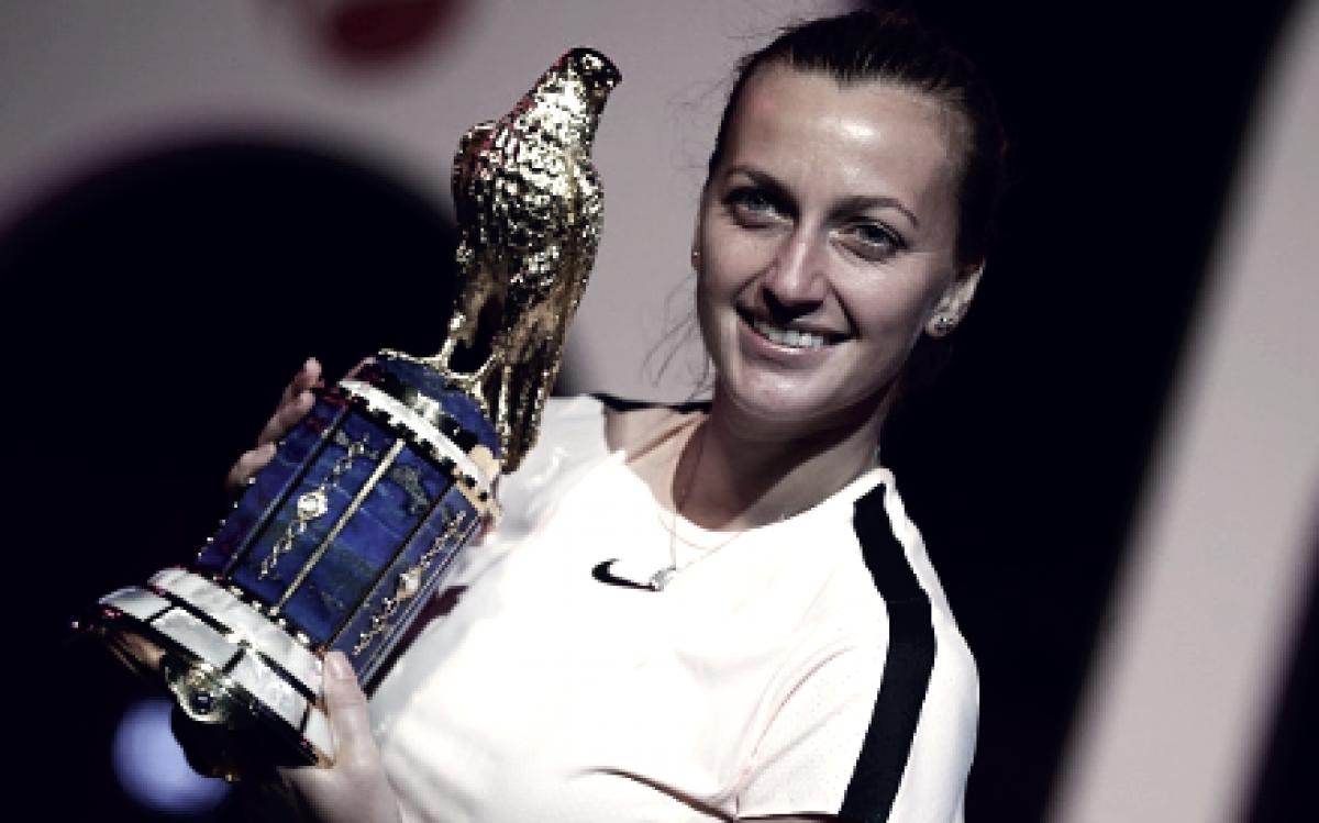 WTA weekly update week five: Petra Kvitova continues hot streak