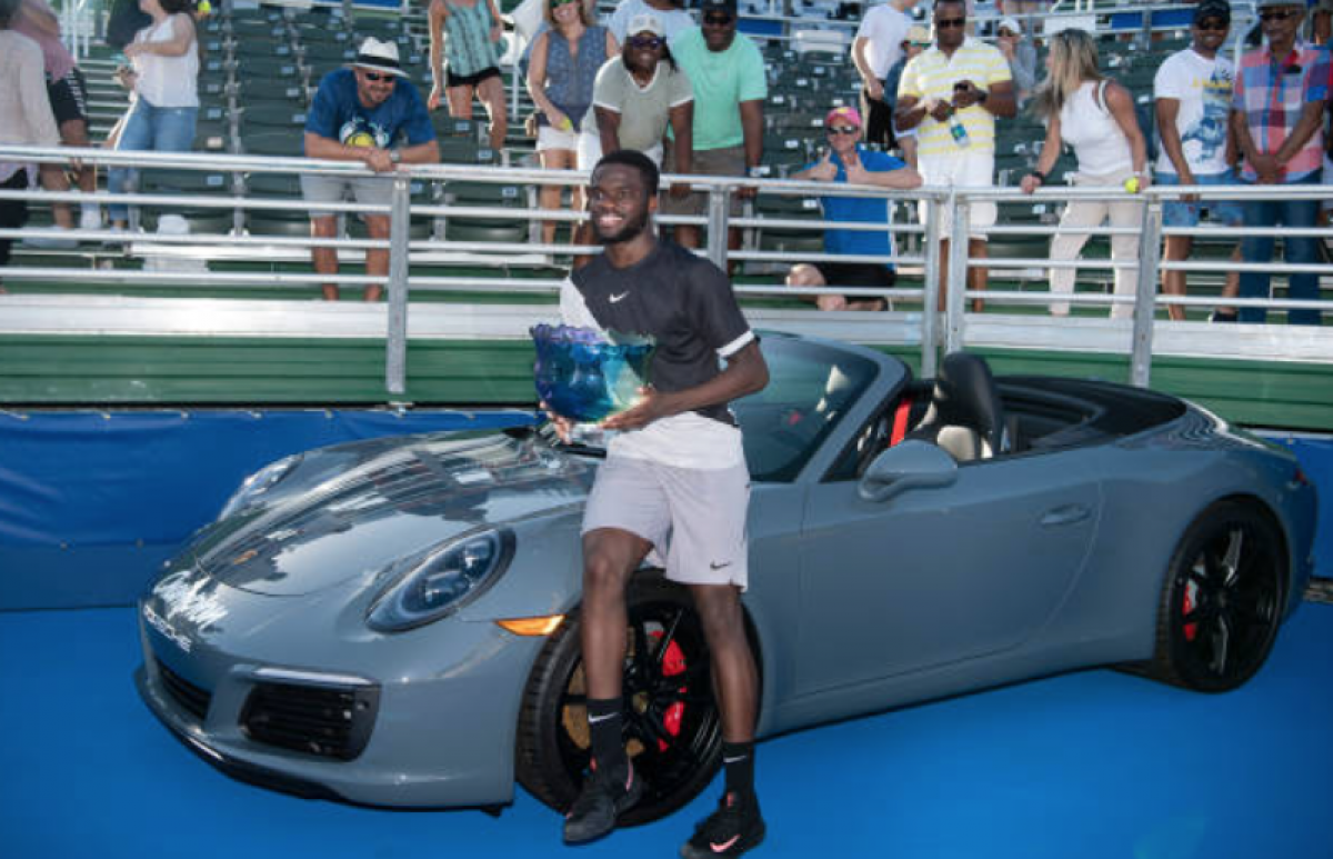 ATP Delray Beach: Frances Tiafoe wins first ATP Tour title