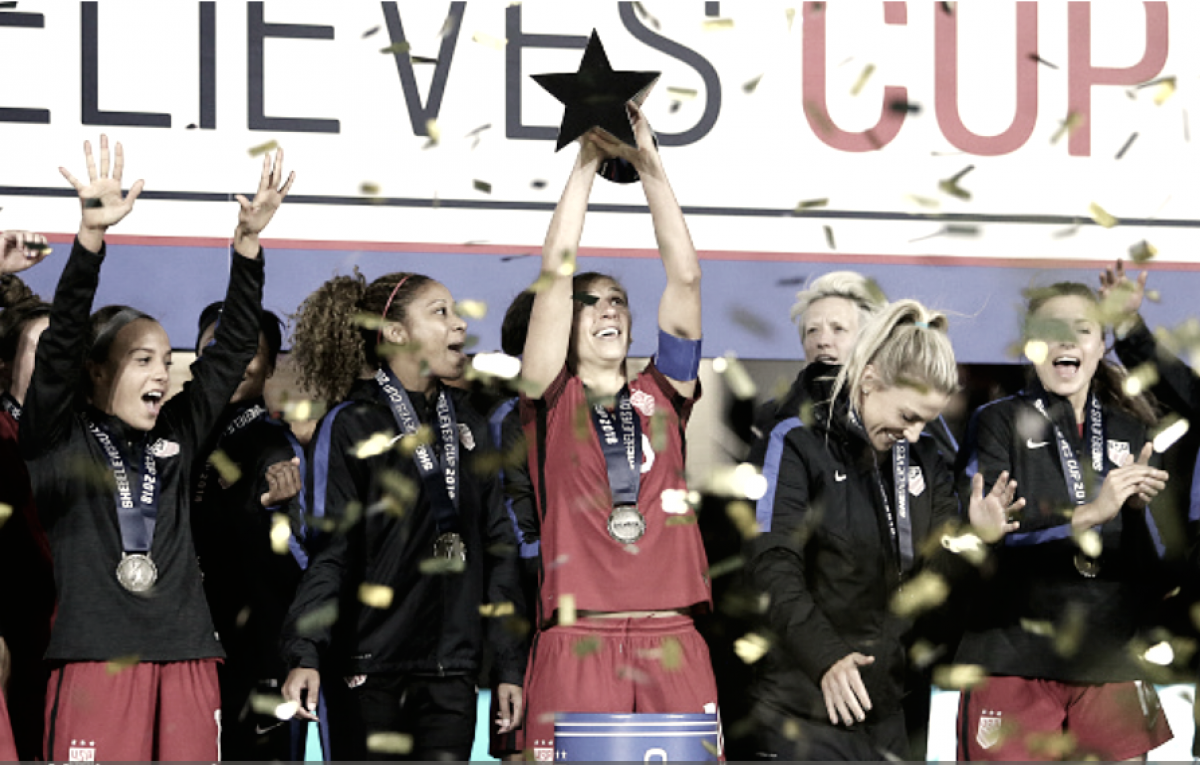 USWNT wins SheBelieves Cup with victory over England