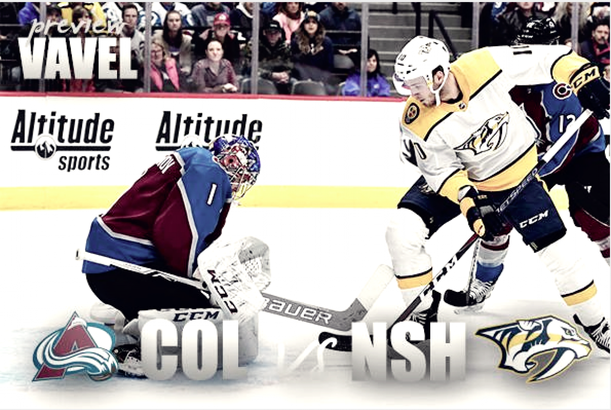 Colorado Avalanche vs Nashville Predators playoff preview