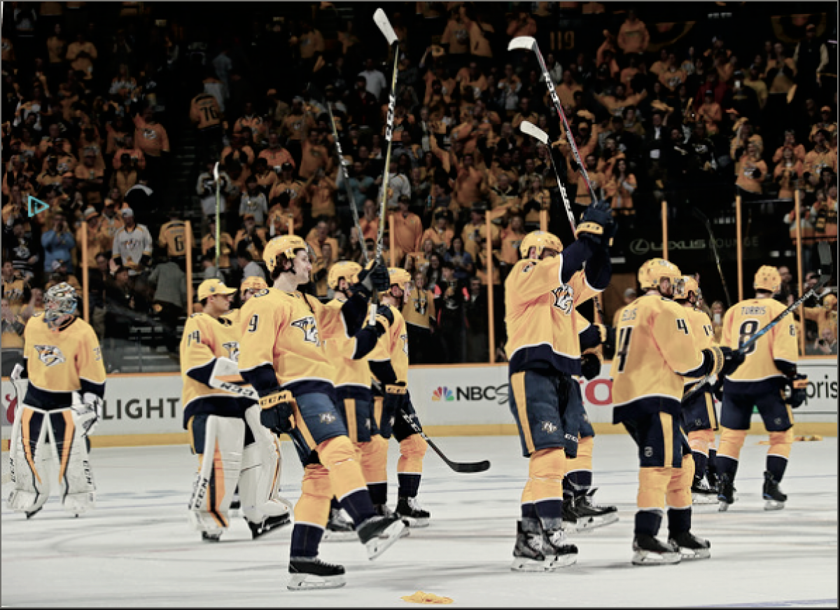 Nashville Predators topple the Colorado Avalanche 5-2 in Game 1 of the series