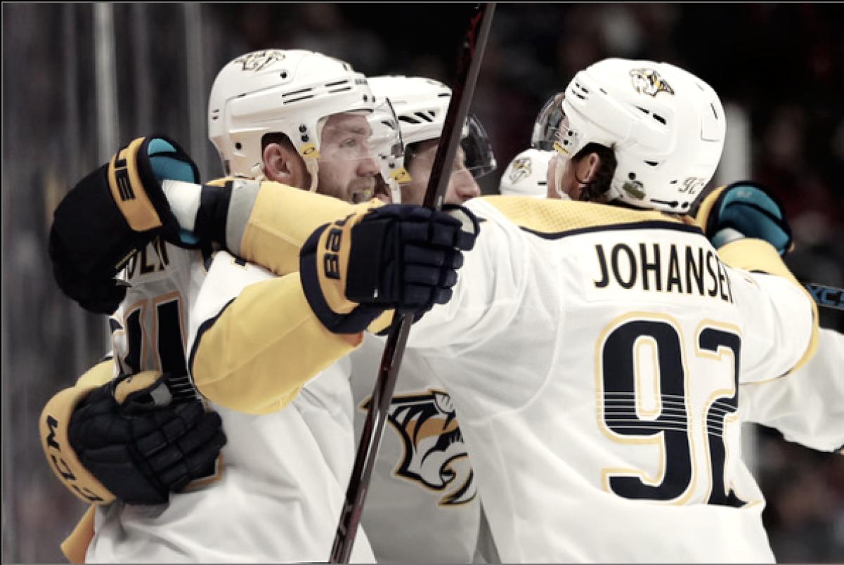 Nashville Predators nab a Game 4 win to lead the series 3-1
