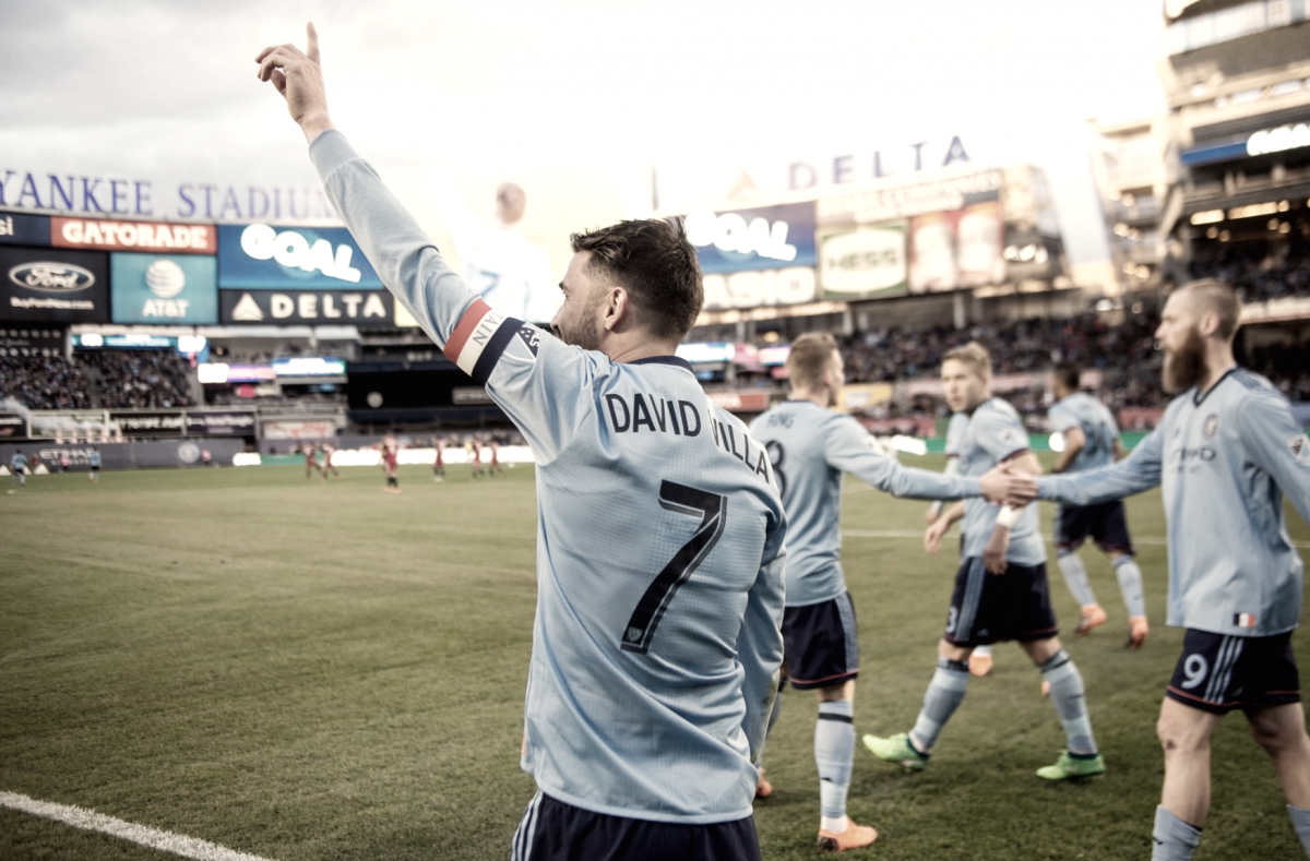 David Villa's 400th professional goal pushes NYCFC past FC Dallas