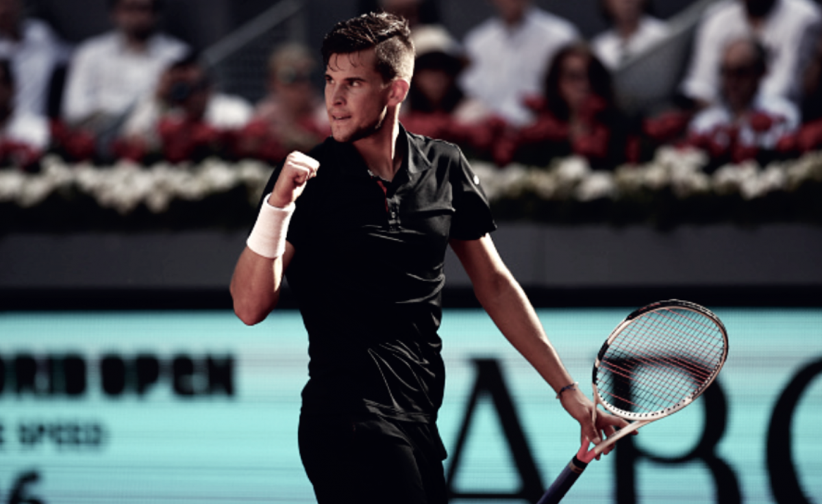 ATP Madrid: Dominic Thiem ends Rafael Nadal's clay court win streak