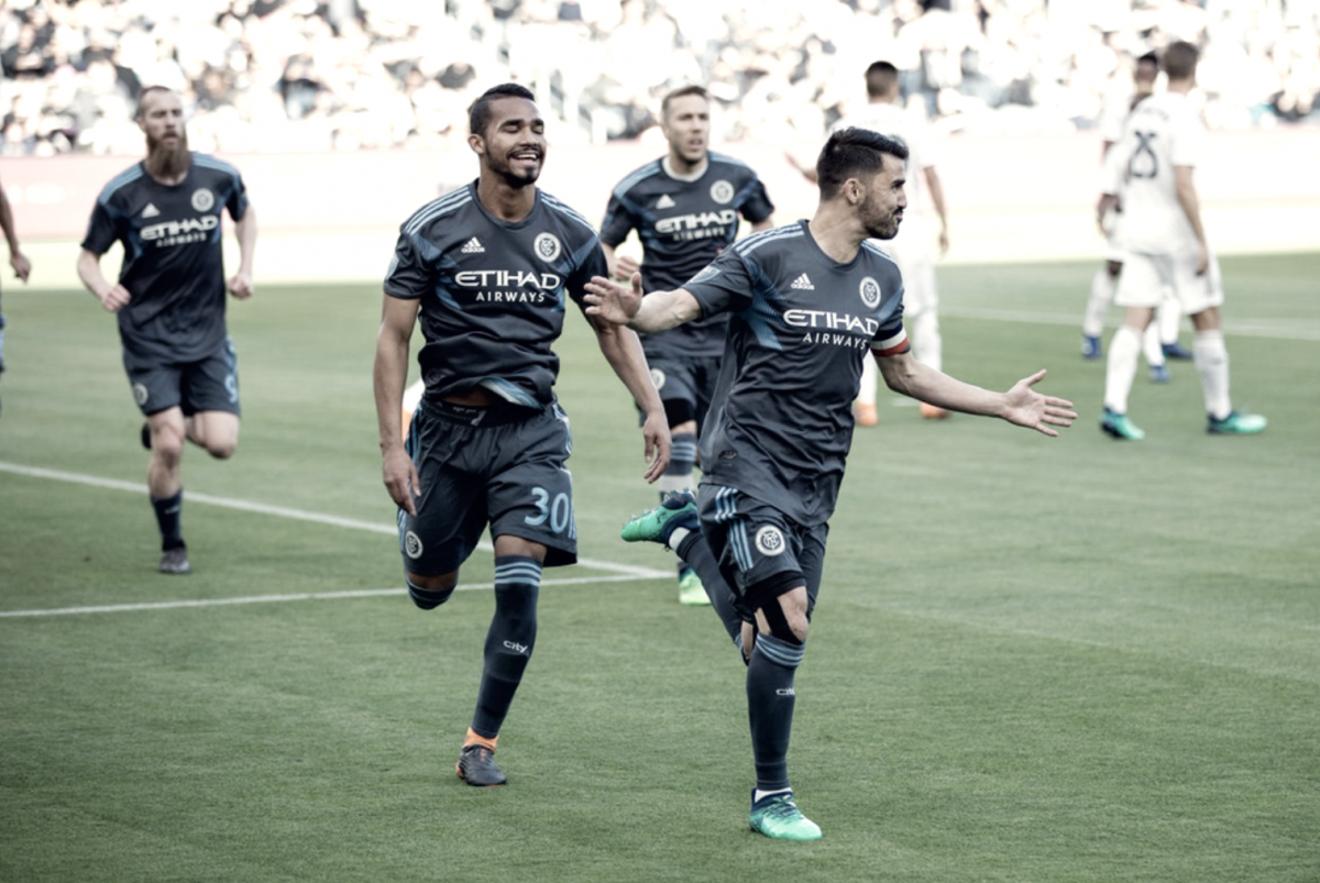 New York City FC and LAFC choose to split points in Los Angeles