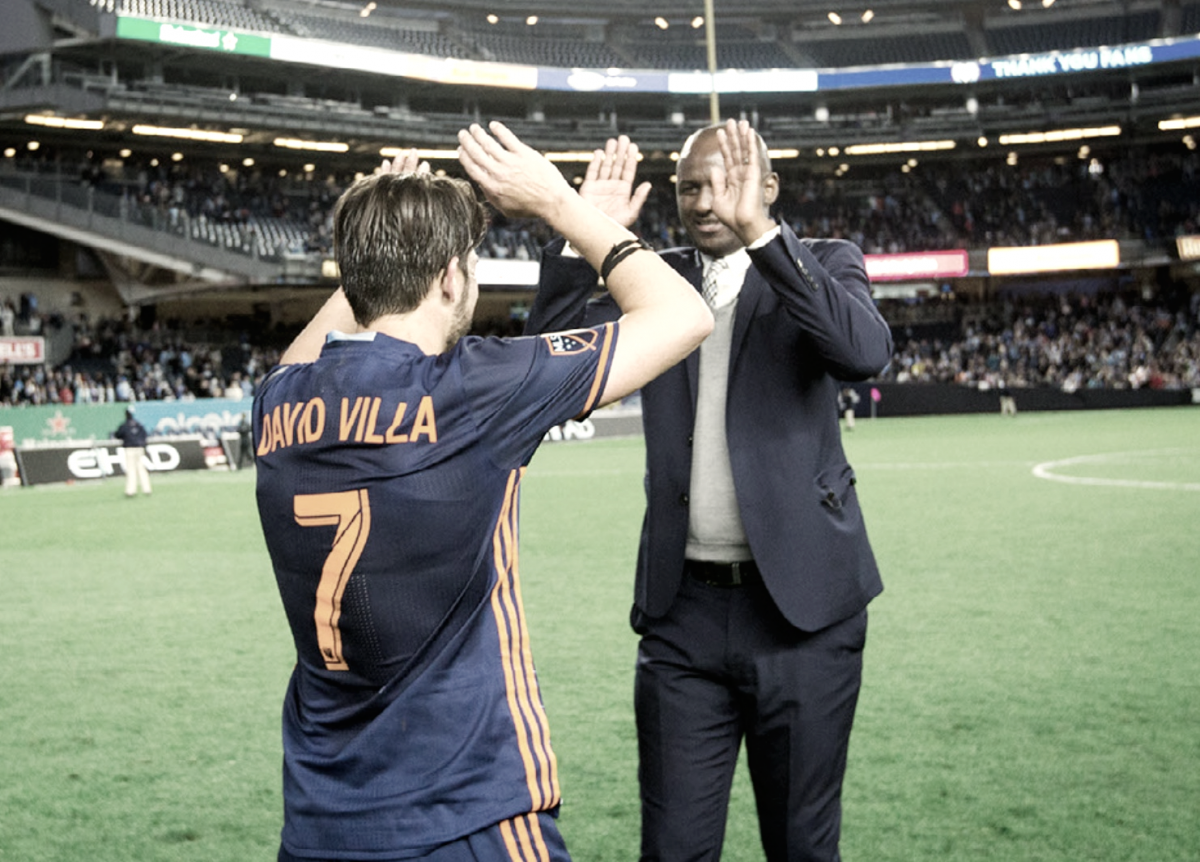 "David Villa: ""Patrick [Vieira] was so important for the club and for us"""