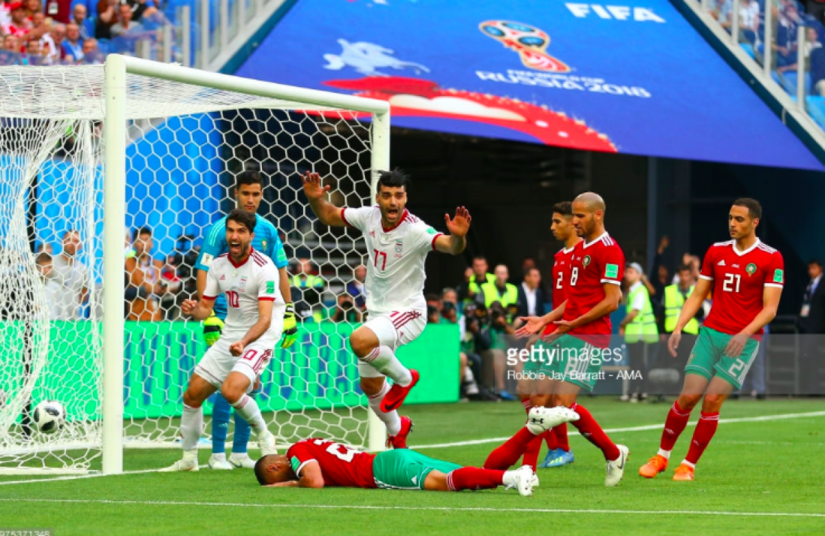 Morocco 0-1 Iran: Late own goal earns Iranians vital three points in Group B