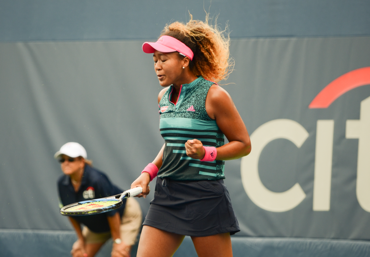 WTA Citi Open: Naomi Osaka kicks off the tournament with win over Bernarda Pera
