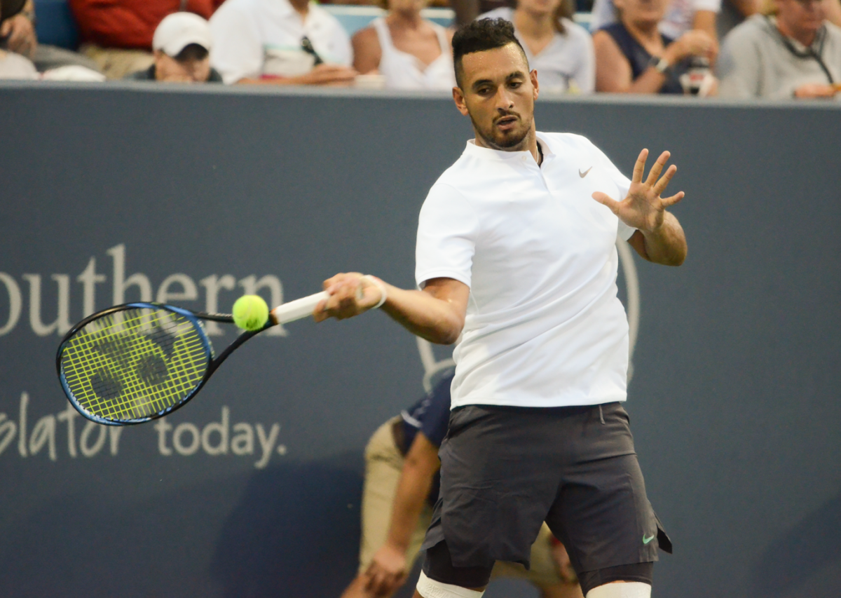 ATP Cincinnati: Nick Kyrgios dismisses Borna Coric in emotional match